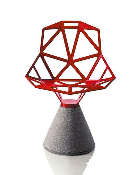 Ihre zukünftige Number One fürs Büro: Der Chair_One. Von Konstantin Grcic 2003 für das italienische Design-Unternehmen Magis entworfen, sorgt Chair_One für Aufsehen bei Be-Sitzern und Betrachtern. Skeletthaft skulptural aus Titan, Aluminium und Beton gestaltet, scheint Konstantin Grcics Chair_One mehr ein Lehrobjekt der Geometrie als eine Sitzgelegenheit zu sein. http://www.topdeq.de/topdeq/chair-one-stuhl-mit-zementsockel-konstantin-grcic-magis--8805205409793.html