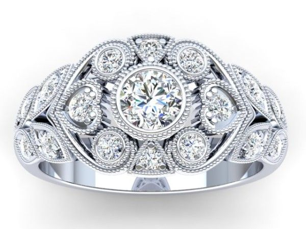 Edna Diamond Engagement Ring