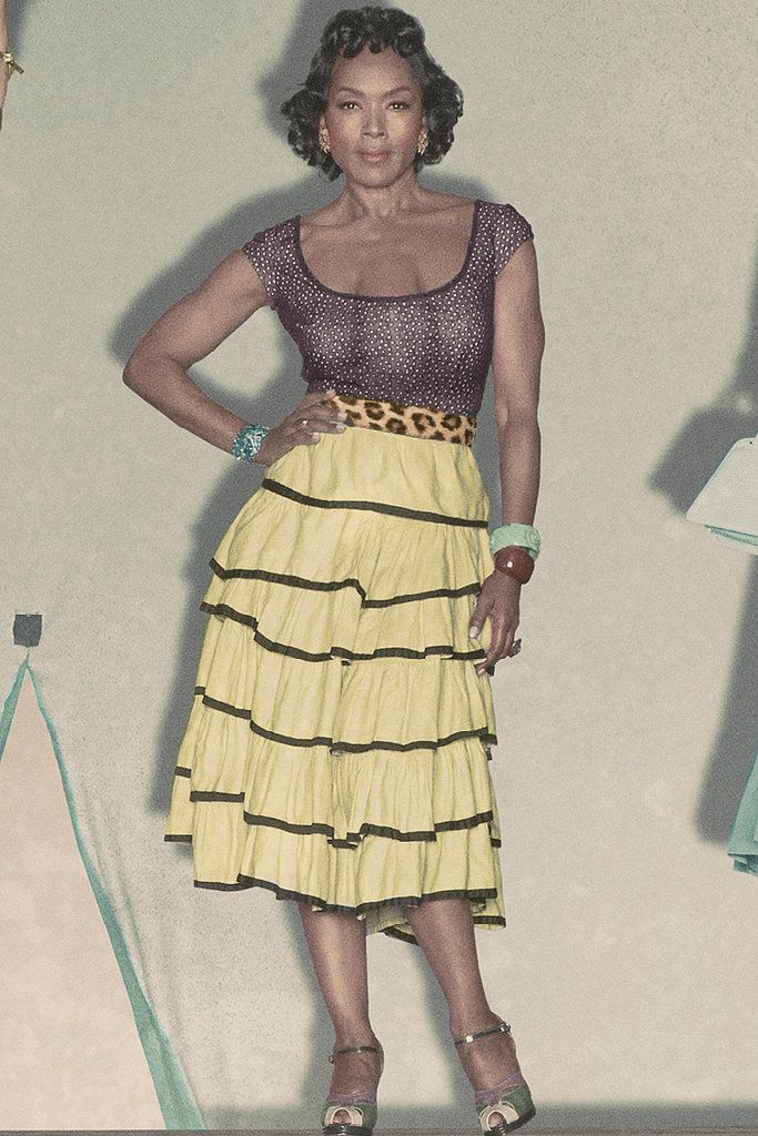 "Angela Bassett as the three-breasted Desiree Dupree in ""American Horror Story: Freak Show"""