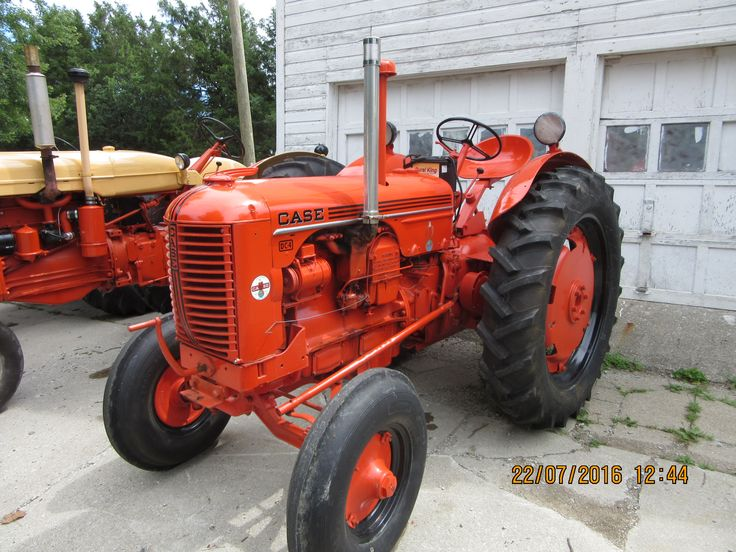 1952 Case Dc Tractor : Best steam and gas farm equipment green acres here we