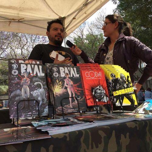 Santarriaga de Nostromo Ediciones habla de sus comics mexicanos de ciencia ficcion #cómicsMexicanos #Novelagráficamexicana #mexicano  #cienciaficción #novelagráfica #mexico #santarriaga #hgsantarriaga