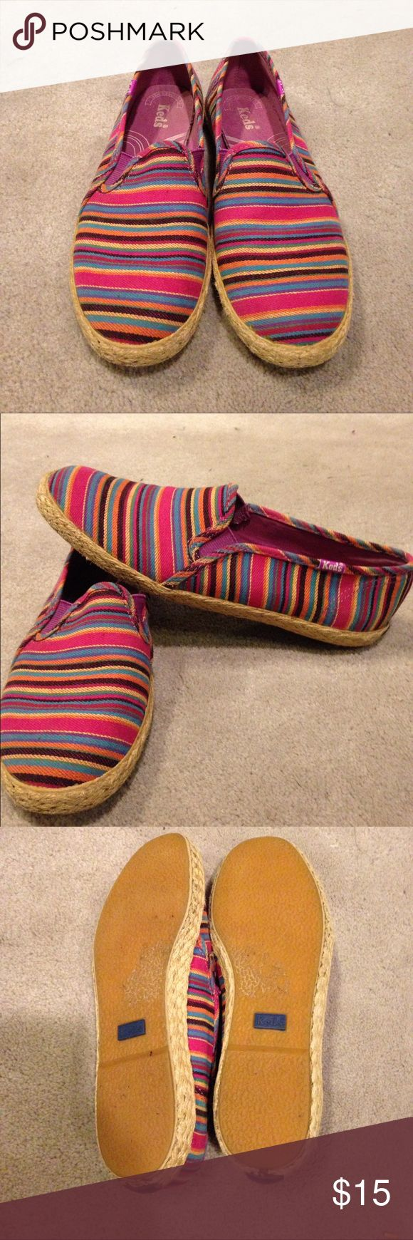 Colorful shoes Colorful slip on ked shoes Keds Shoes Flats & Loafers
