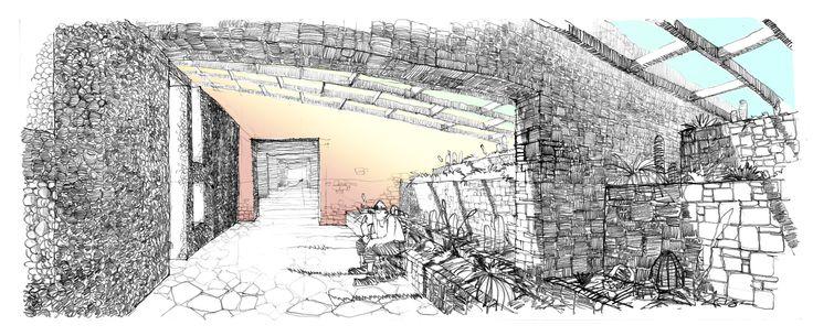 Proyecto Título Arq. SSA_Lodge Caspana 2_2008