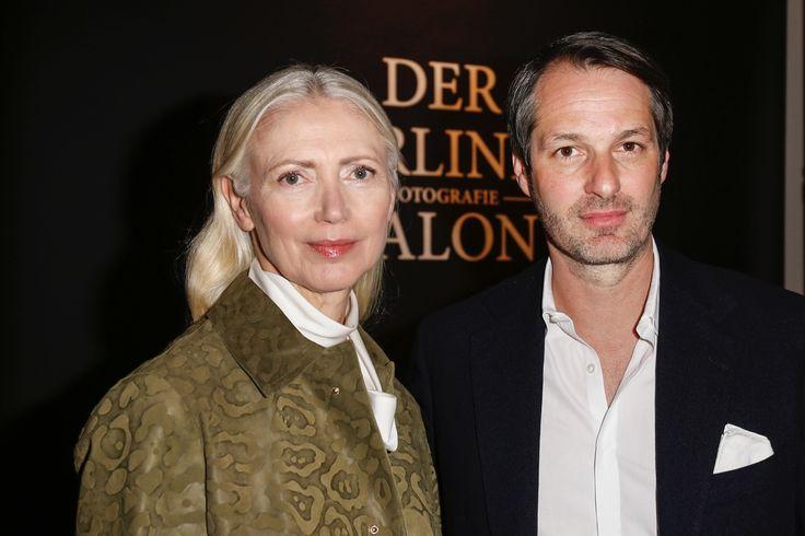 VOGUE Deutschland Chefredakteurin Christiane Arp und Marcus Kurz, Mitgründer des Berliner Mode Salons, eröffnen den Berliner Fotografie Salon 2016 © Isa Foltin