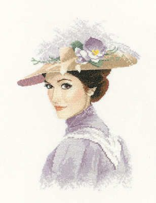 Rebecca - John Clayton  Elegance Cross Stitch