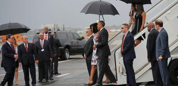 Obama chega a Cuba; é o 1º presidente dos EUA a visitar a ilha em quase nove décadas