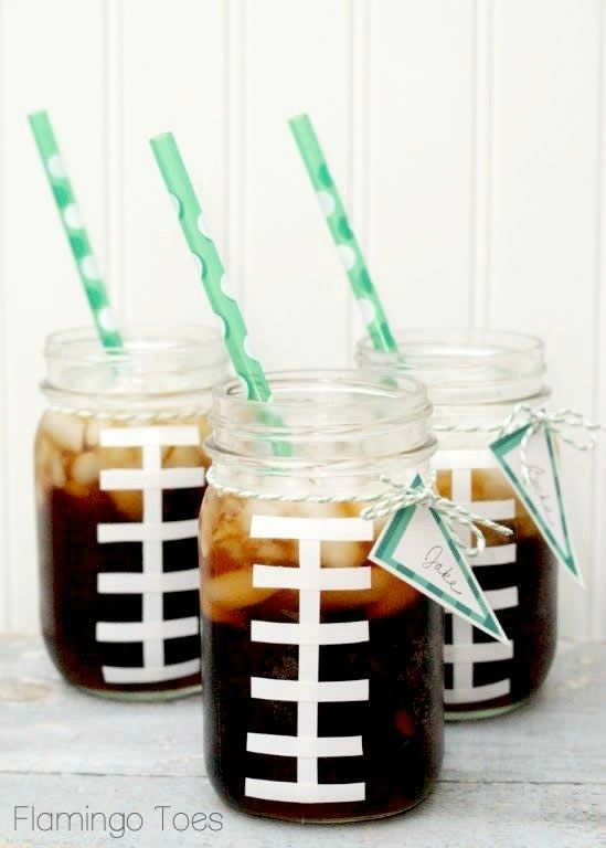 Super Bowl Football Party Ideas #superbowl #football #partyideas #decorations #birthdayparty #stateoforigin