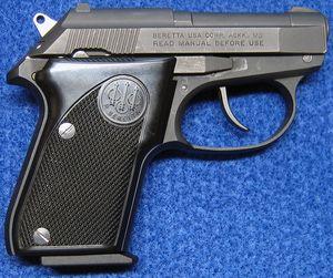Right side of Beretta 3032 Tomcat 32 ACP Semi-Auto Pistol. - Photo © Russ Chastain