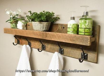 57 Trendy Bath Room Shelf Above Toilet Towel Racks   – Bath`s!! – #bath #Baths #…  – most beautiful shelves