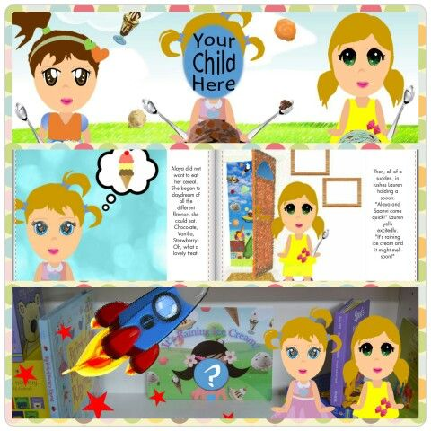 Personalised children's book, Personalised kids gift idea. https://www.facebook.com/storytimewithlala
