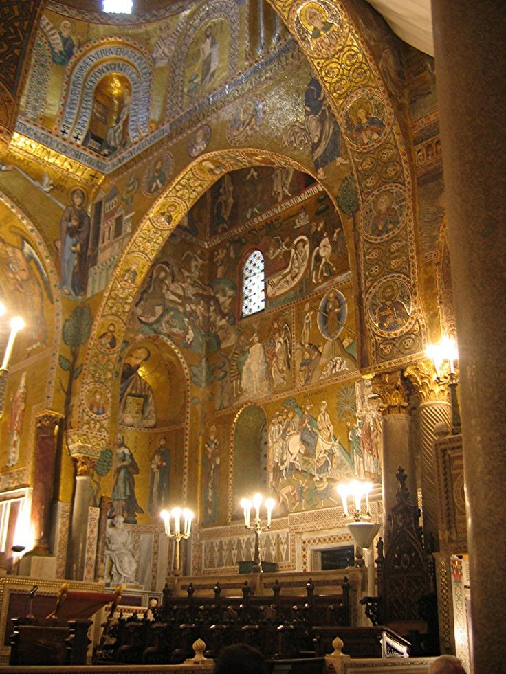 The Palatine Chapel is the royal chapel of the Norman kings of Sicily situated on the ground floor at the center of the Palazzo Reale in Palermo, southern Italy.