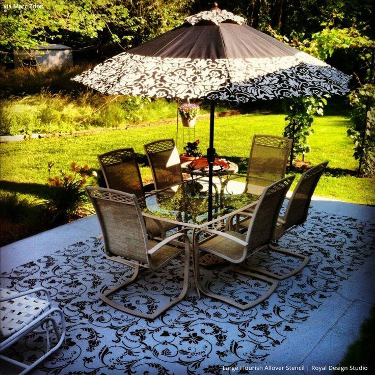13 best porch floor reno images on pinterest | architecture, paint ... - Concrete Patio Floor Paint Ideas