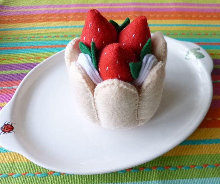 : Felt Play Food - Charlotte Russe | Flickr - Photo Sharing!