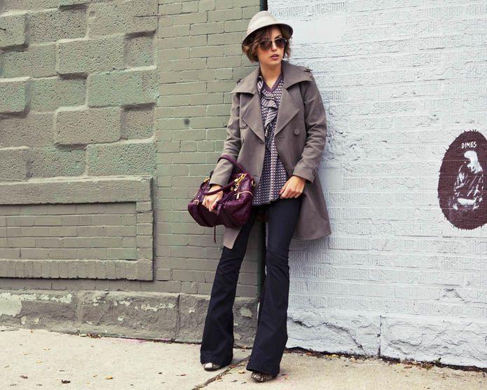 hint of 70'sStyle, November 2012, Flare Jeans Fashion Week, Outfit, Travel Fashion, Fashion Blog, Yu Fashion, Kelly Framel, New York