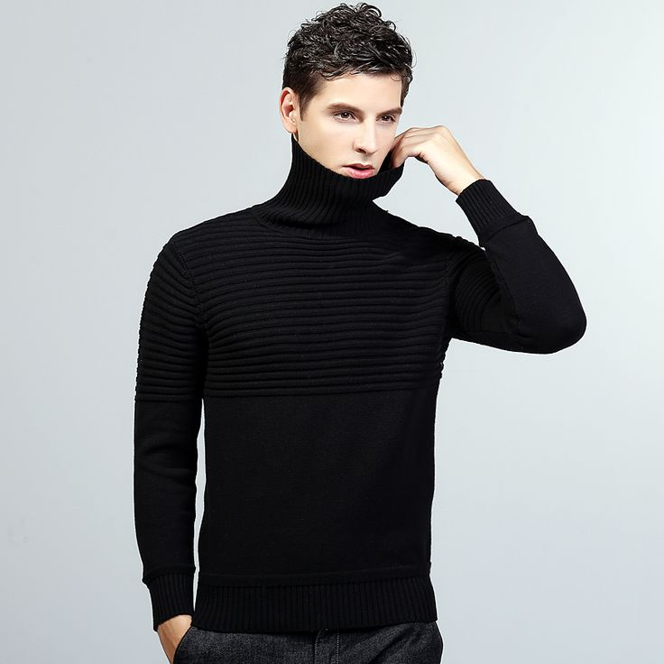 2016 New style  fashion brand clothing sweater knit mens sweaters mens wool  sweater men pulover mens long coat male