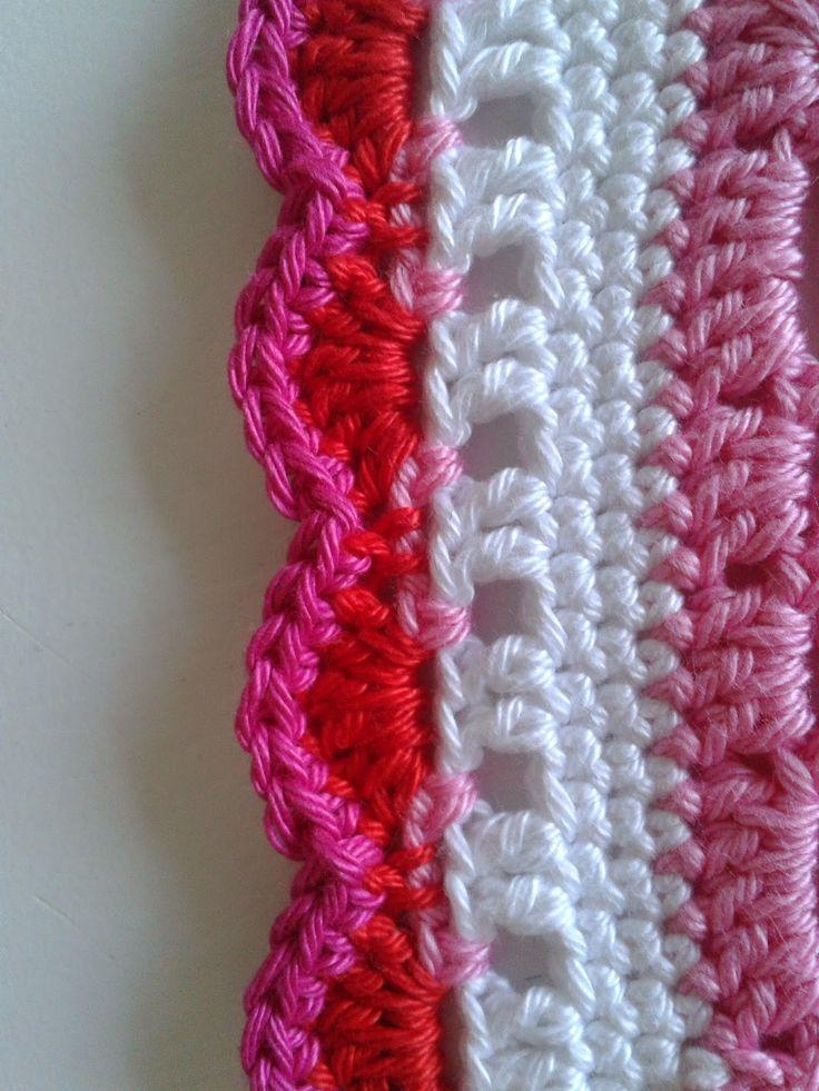 Heerlijk Haken by Henja: babydeken en patroon rand