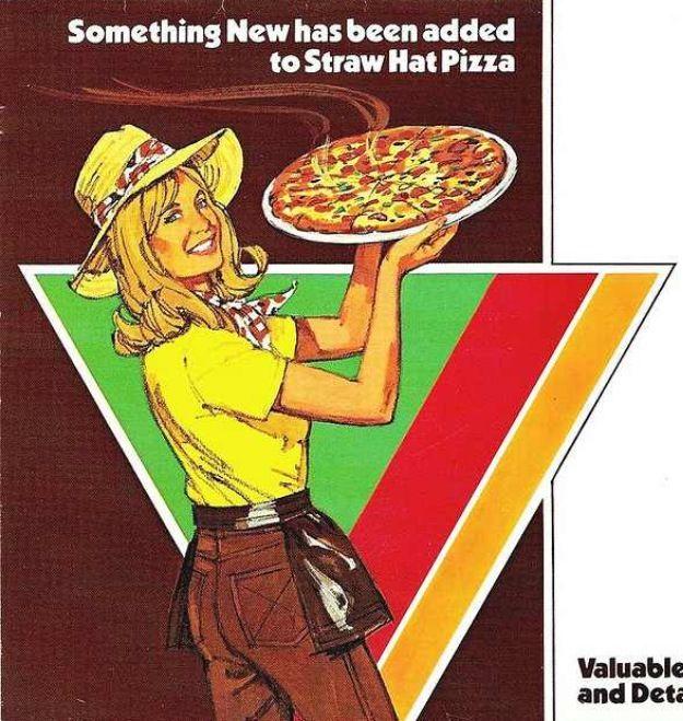 Straw Hat Pizza Ad