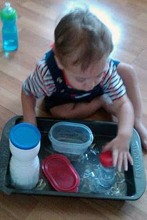 Lots of Montessori inspired ideas for infants and toddlers. Amazing what they are capable of at such a young age!
