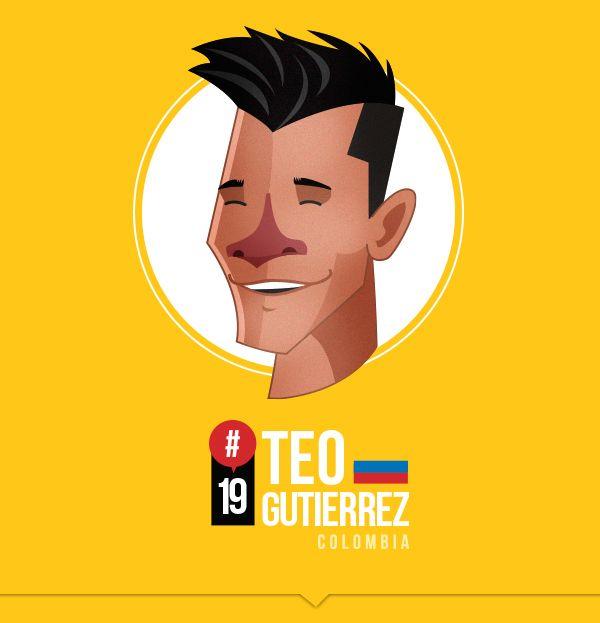 MI SELECCIÓN COLOMBIA by Edgar Rozo, via Behance