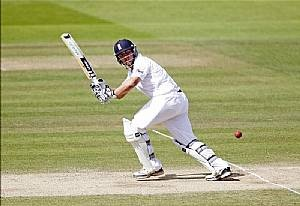 On a fine sunny day, centuries for Nick Compton and Jonathan Trott guided England into position to build a weighty first innings score and they closed on an imposing 267 for two having been invited to bat first