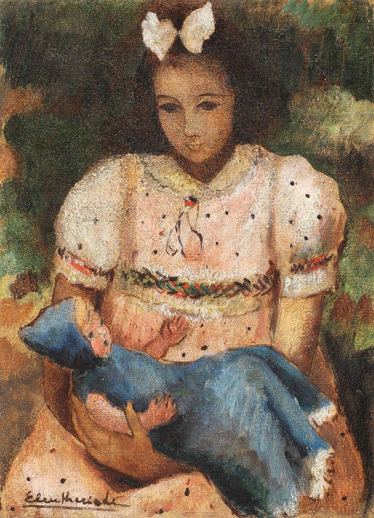 Micaela Eleutheriade, Fetița cu păpușă