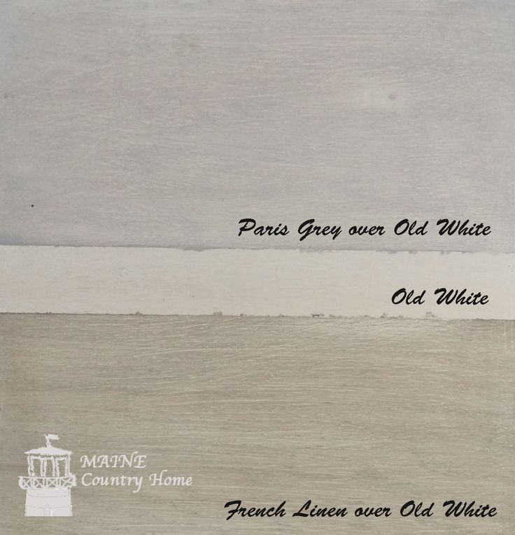 IMG_0085watermark; Annie Sloan Chalk Paint - paris grey over old white