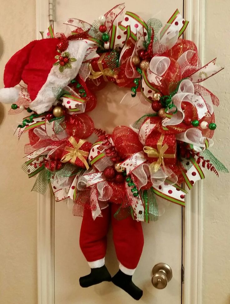 how to make a wreath hanger