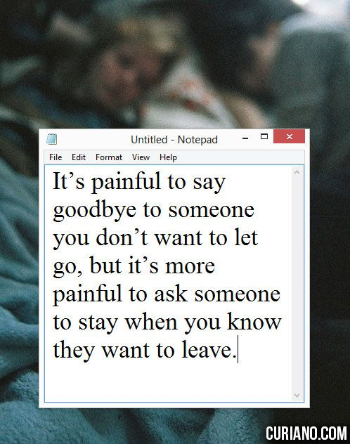 how to say goodbye to your boyfriend