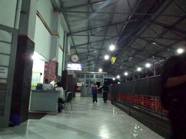 Klaten Train Station...