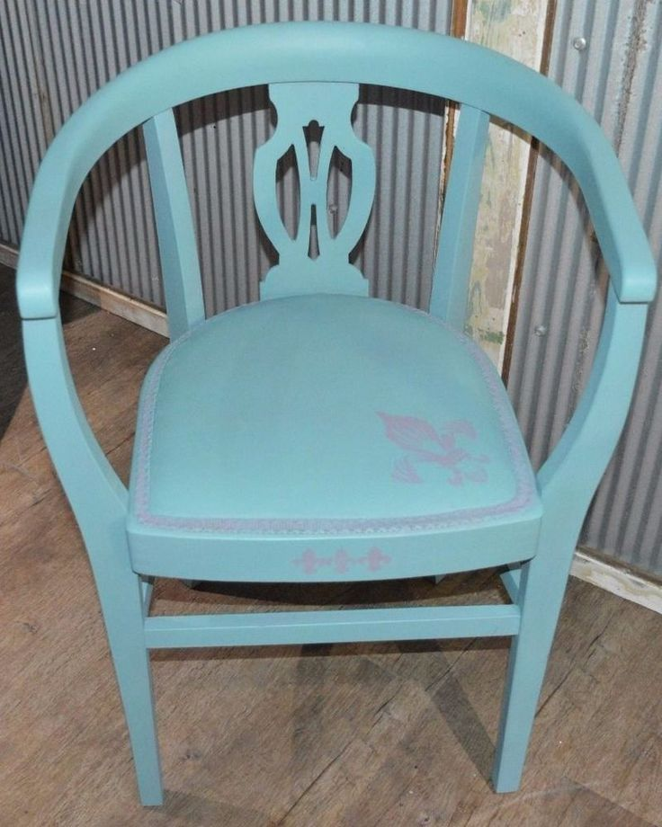 Shabby Chic Captains Chair - Hamptons/ Country Style Chair