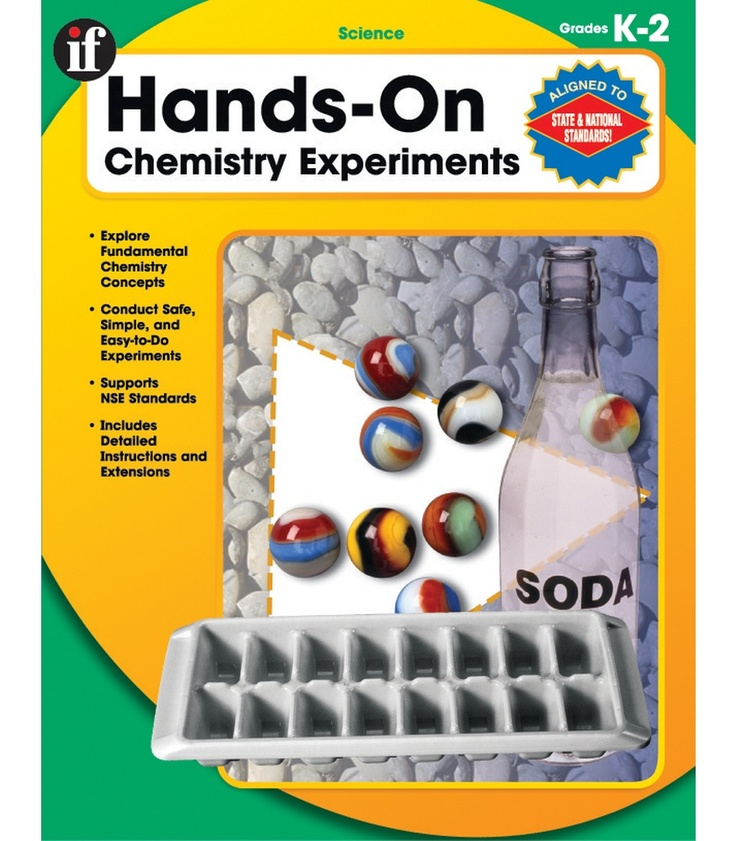 #CDWishList Hands-On Chemistry Experiments Resource Book - Carson Dellosa Publishing Education Supplies