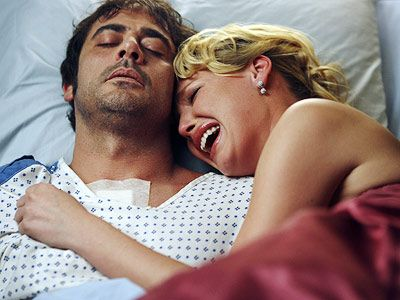 Jeffrey Dean Morgan as Denny Duquette on Grey's Anatomy. I fell in love...