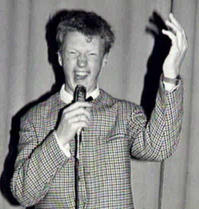 Andre Van Duin winnaar van het programma Nieuwe Oogst in 1964
