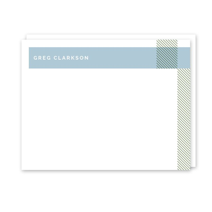 Geometric Personalized Flat Note Card (Stationery) l Peony Hill Press - Several styles to choose from - modern and classic!⠀ Check them out for the guy in your life - boyfriends, husbands, dads and grandpas!⠀ .⠀ .⠀ .⠀ .⠀ ⠀ #peonyhillpress #php #stationery #notecards #dad #men #male #correspondence #hello #thankyou #notepaper #gift #present #dad #father #grandpa #grandfather #uncle #teacher #giftidea #personalized #custom