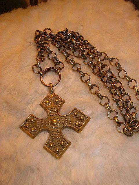 Finnish Kalevala necklace by Nunnuli