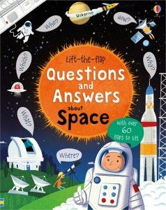 Lift the flap questions and answears about space