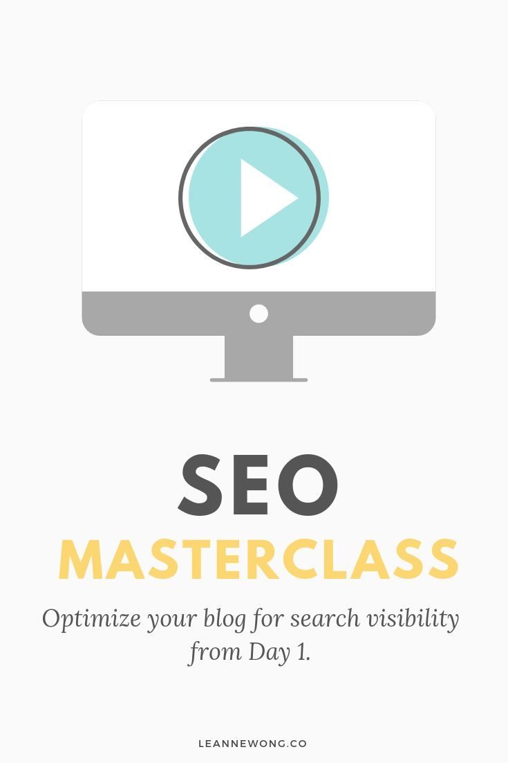 SEO Masterclass: Optimize Your Blog for SEO from Day 1