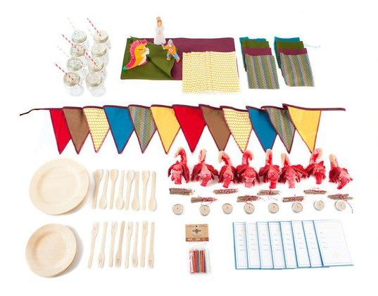 Throw a Gorgeous Green Birthday Party with Acme Party Box Company