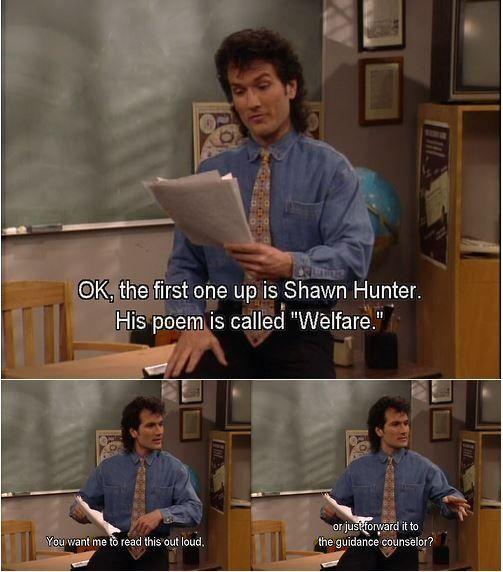 I always loved Mr. Turner... Boy Meets World