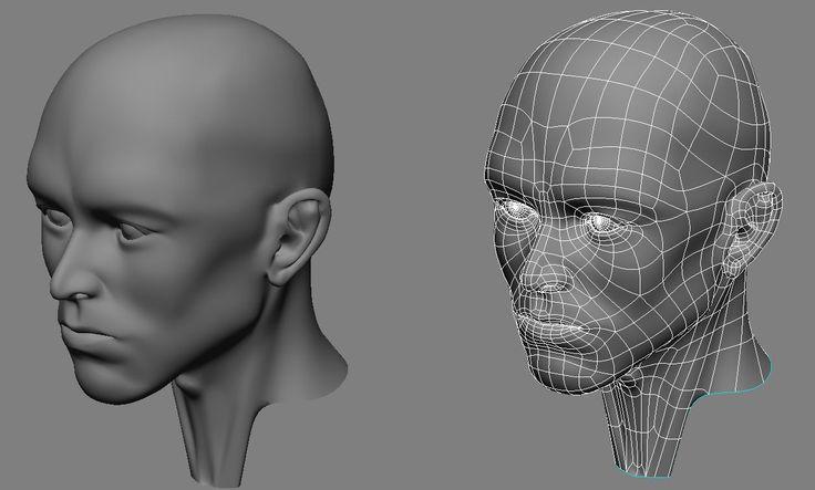 human head topology 2
