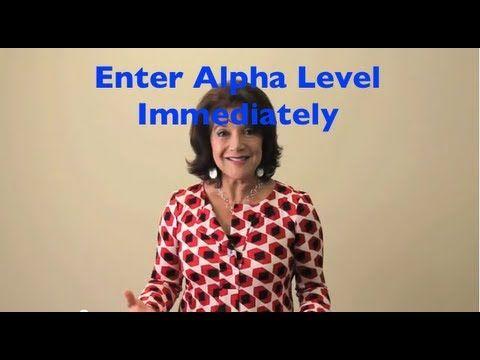 How To Enter Alpha Level of Mind Immediately - The Silva Method - YouTube