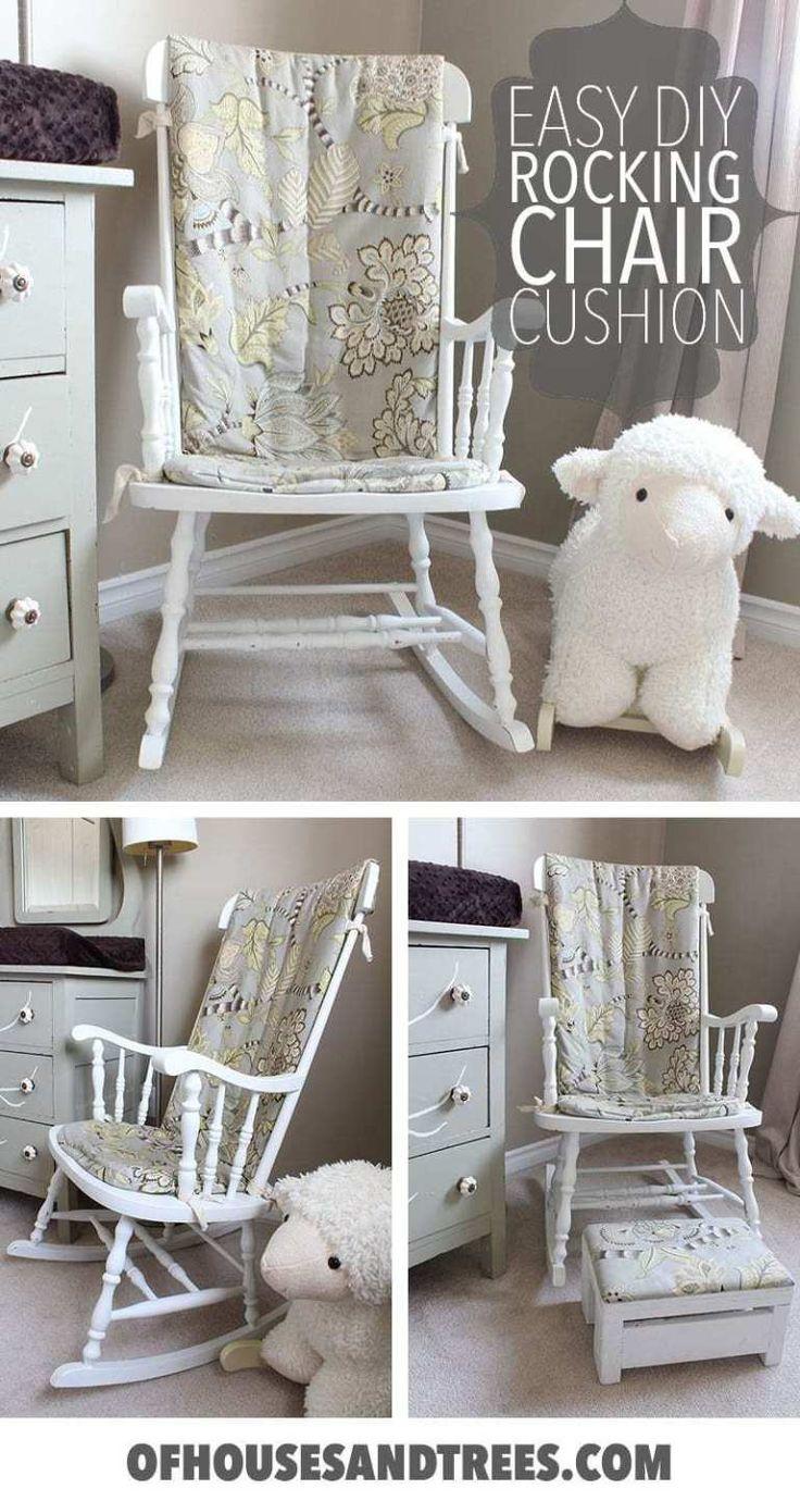 Diy rocking chair cushion how to make an easy diy