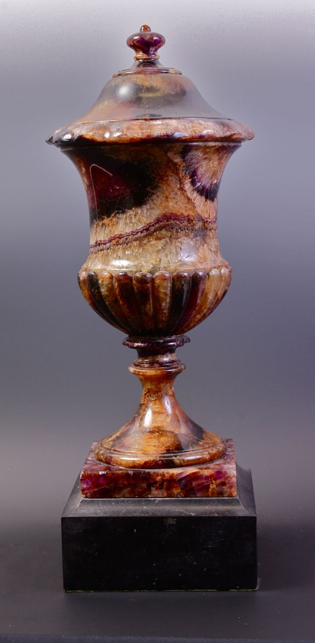 Decorated Mining Urn 472 Best  Blue John  Images On Pinterest  Castleton Derbyshire