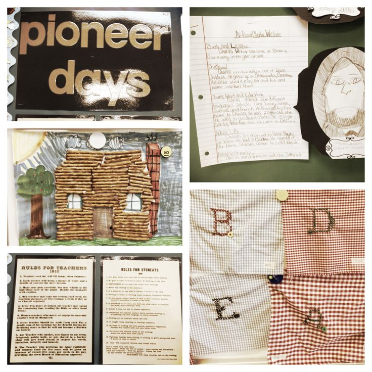 3rd Grade Pioneer Unit - this is only a fraction of all the things we do in my classroom for our social studies unit on  Pioneer History.