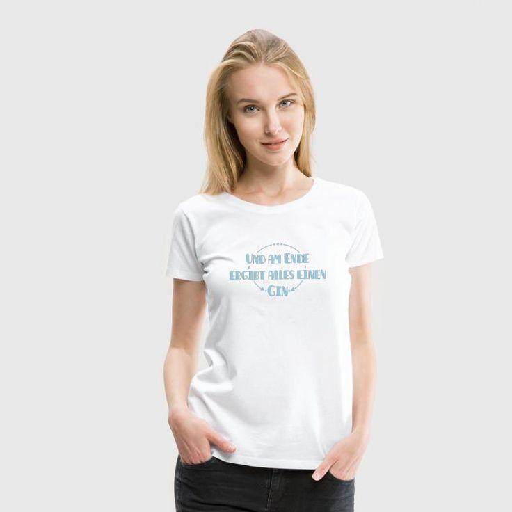 Fast schon philosophisch zeigst du deine Liebe zu Gin Tonic mit diesem witzigen Design. Ob Männer oder Frauen, ein cooles T-Shirt für Festivals, den Mallorca Urlaub, Partys oder im Alltag.
