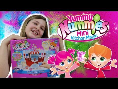 Yummy Nummies SODA SHOPPE MAKER Mini Magic Kitchen - DIY Soda Candy!    ...