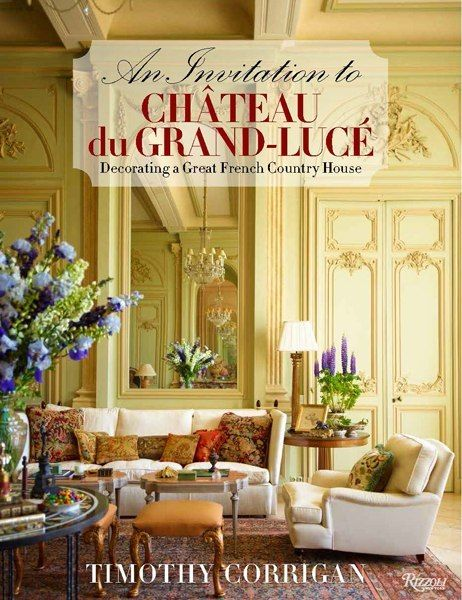 Timothy Corrigan's An Invitation to Chateau du Grand-Lucé, details his against-all-odds acquisition of an 18th century French National Landmark in the Loire valley, in dire need of repair, and subsequent painstaking restoration and decoration, bringing it back to life as a private home and personal retreat, where he loves to entertain.