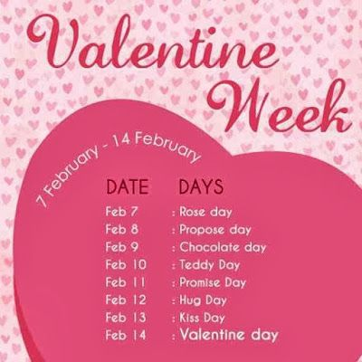 The 25+ best List of valentine week ideas on Pinterest ...