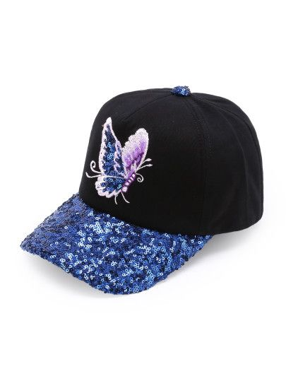 This is totally a Maraposa Hat from Lodovica Comello Maraposa theme CD. Y Me encanta!!!!💜💜💜