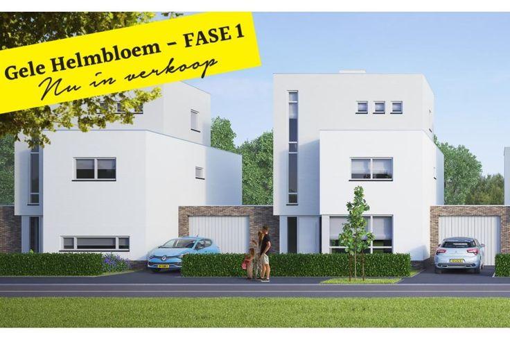 Gele Helmbloem Fase I, Eijsden 9 riante geschakelde villa's Fase I nu in verkoop. € 319.500 von